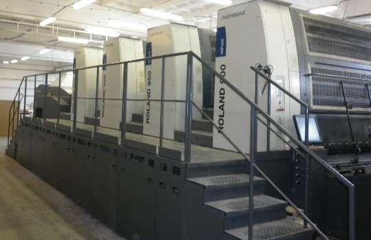 Available in 2018; Buy Now;  2007 Man Roland 904 8; 8 Colour;